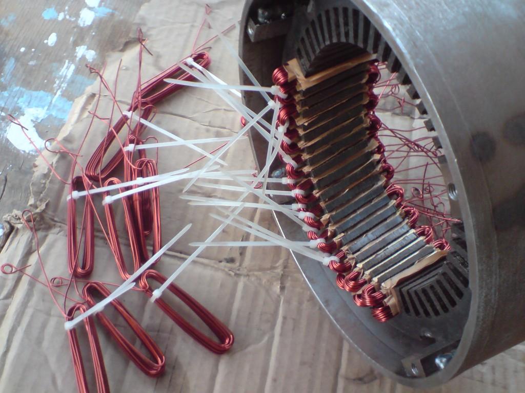 Намотка электродвигателей своими руками